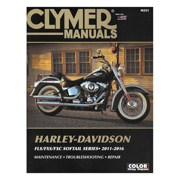 CLYMER SERVICE MANUAL 11-16 SOFTAIL(NU)