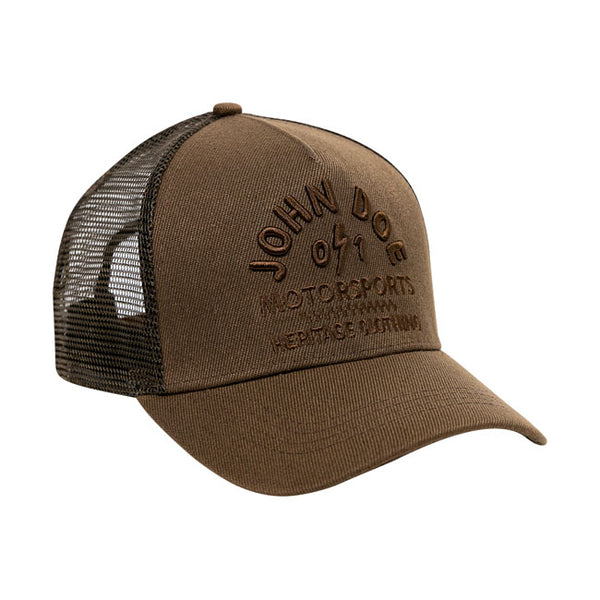 JOHN DOE TRUCKER CAP HERITAGE BROWN