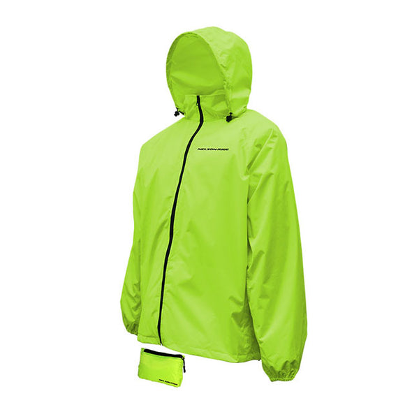 NELSON RIGG COMPACT PACK JACKET WATERPROOF YELLOW