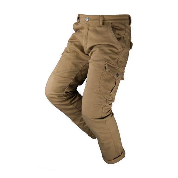 BY CITY MIXED JEANS, CARGO KEVLAR BUKSE. BEIGE.