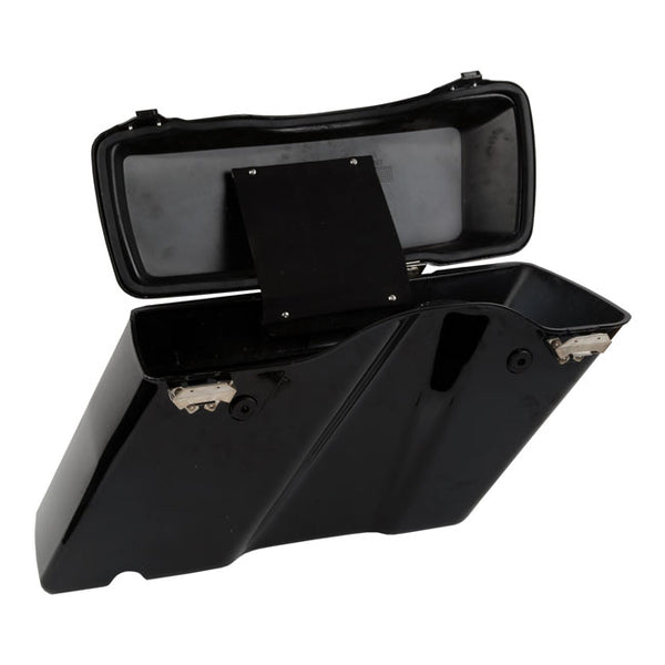 STANDARD SADDLEBAG SET. BLACK. HD touring. 94-13.