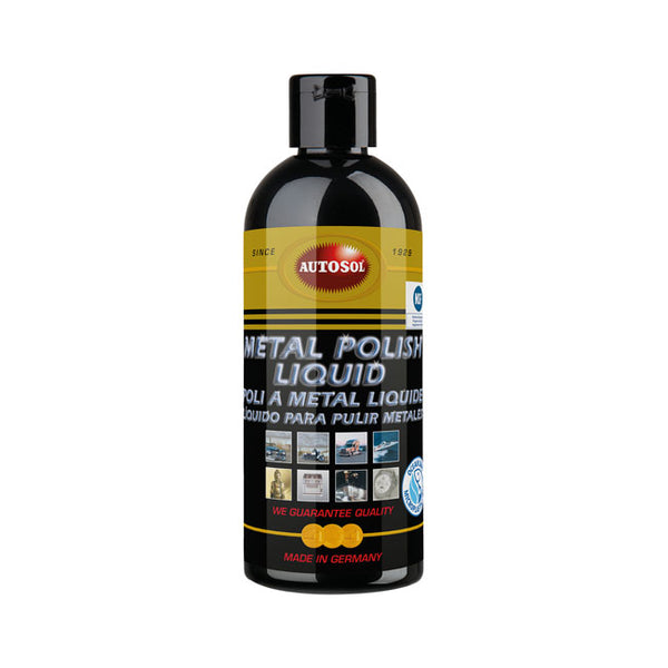 AUTOSOL, METAL POLISH LIQUID. 250CC BOTTLE