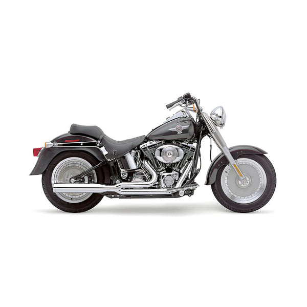 Cobra Power Pro 2-1 eksosanlegg til HD softail 86-06. Krom.