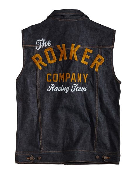 Team Denim Vest
