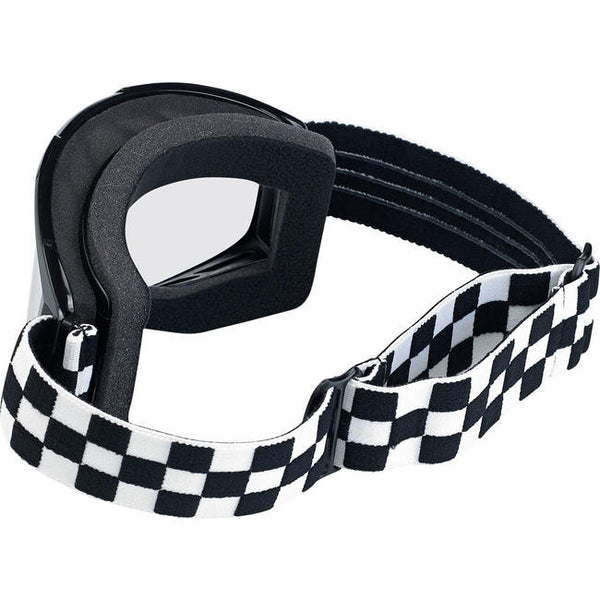 Biltwell - goggles -checkers black