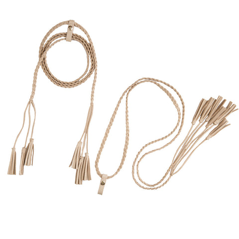 Lace-Up Tassels