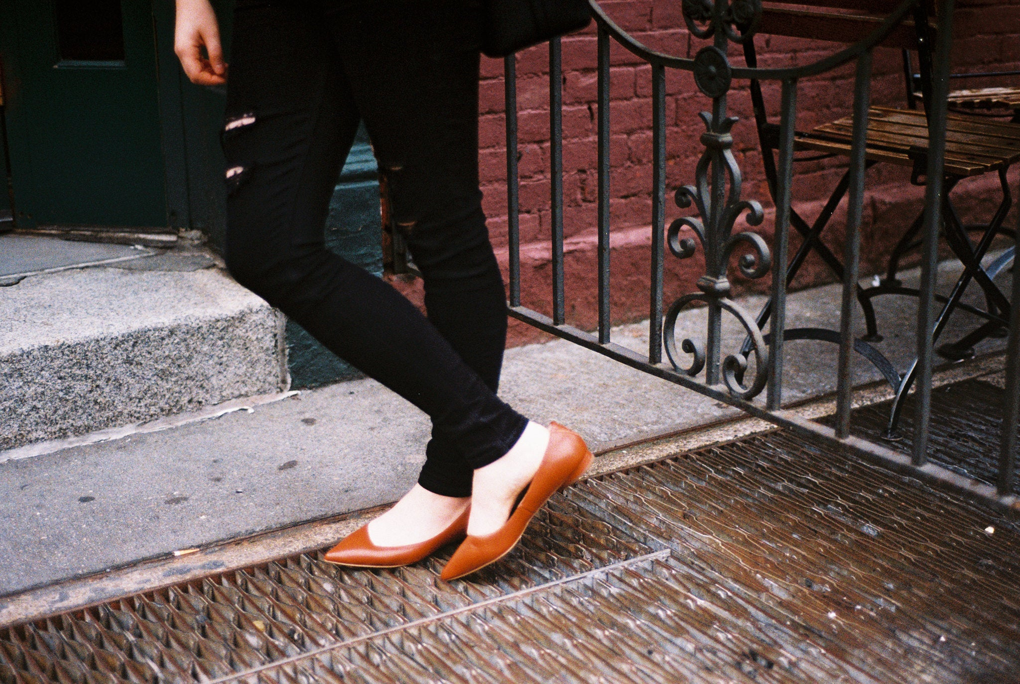 comfortable pointed toe flats