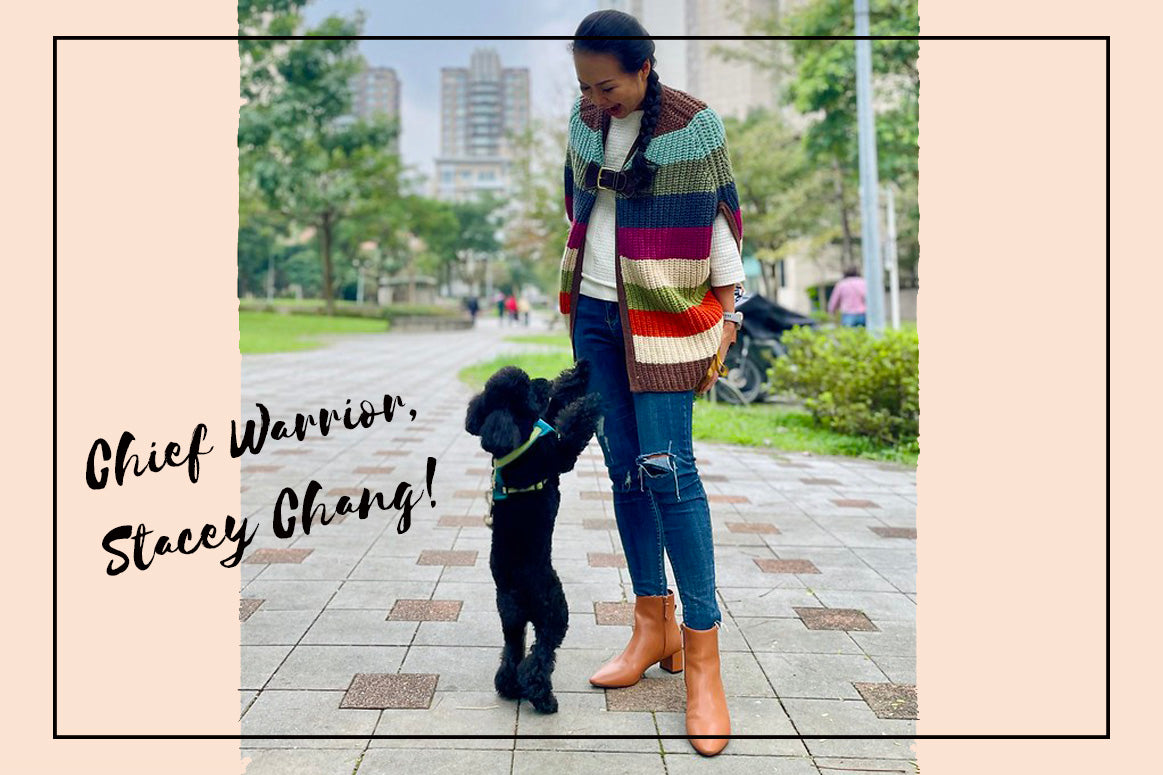 Interview with Stacey Chang Founder of VEERAH in Hedy Vegan Boots