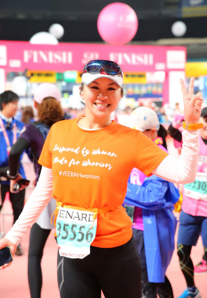 Stacey Chang in Nagoya Women's Marathon