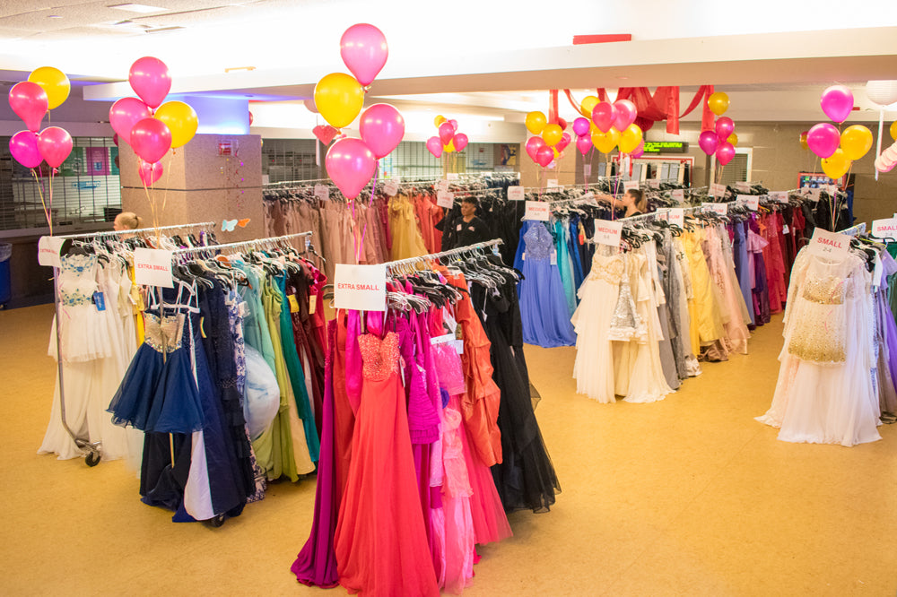 Donated Prom Dresses