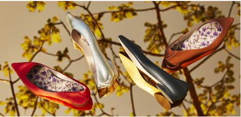 vegan leather flats collection
