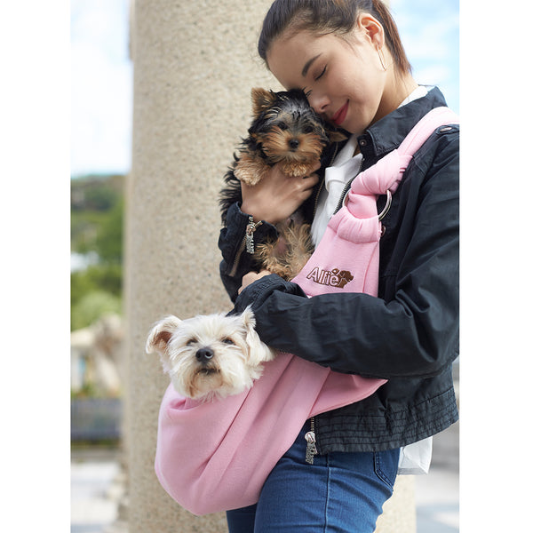 Chico Pink Pet Sling Carrier with Adjustable Strap
