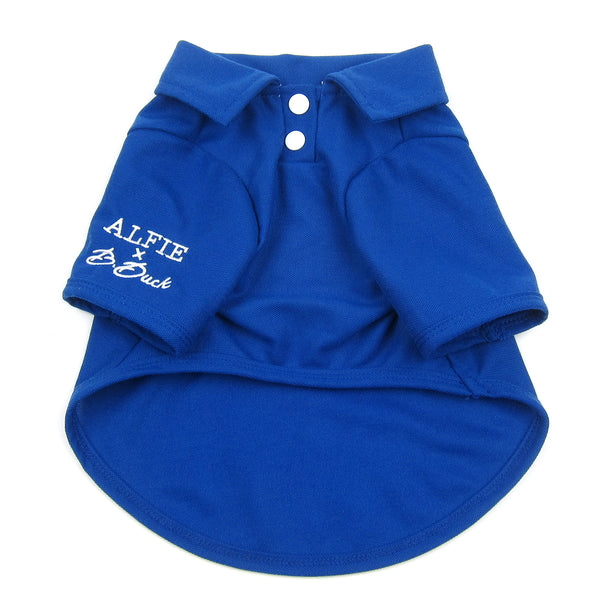 Jason Solid Polo Shirt Blue