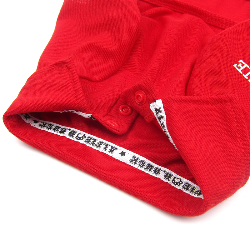 Jason Solid Polo Shirt Red