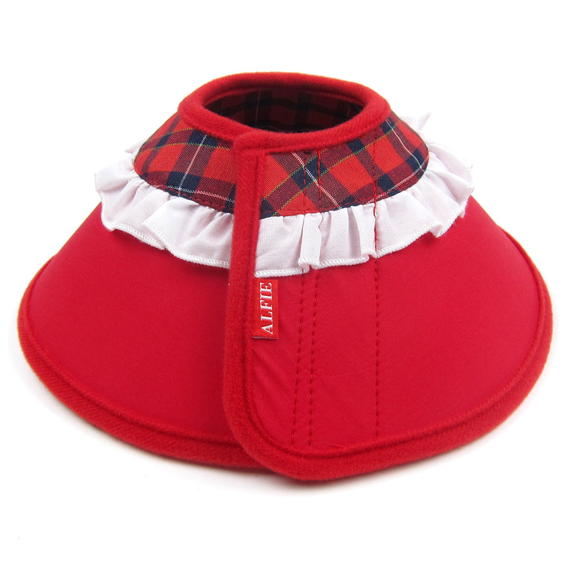 Candace Soft Recovery Collar Red