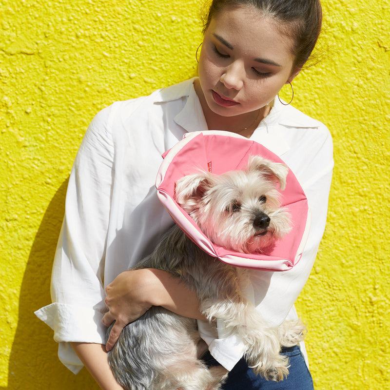 Keeva Recovery Collar - Pink