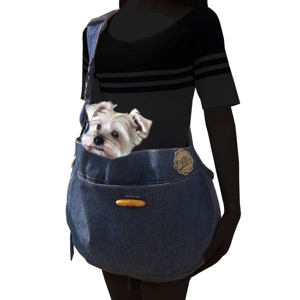 Lucian Denim Pet Sling Carrier