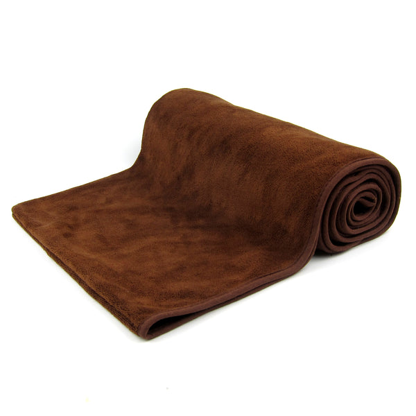 Amber Microfiber Fast-Dry Pet Bathing Pockets Towel