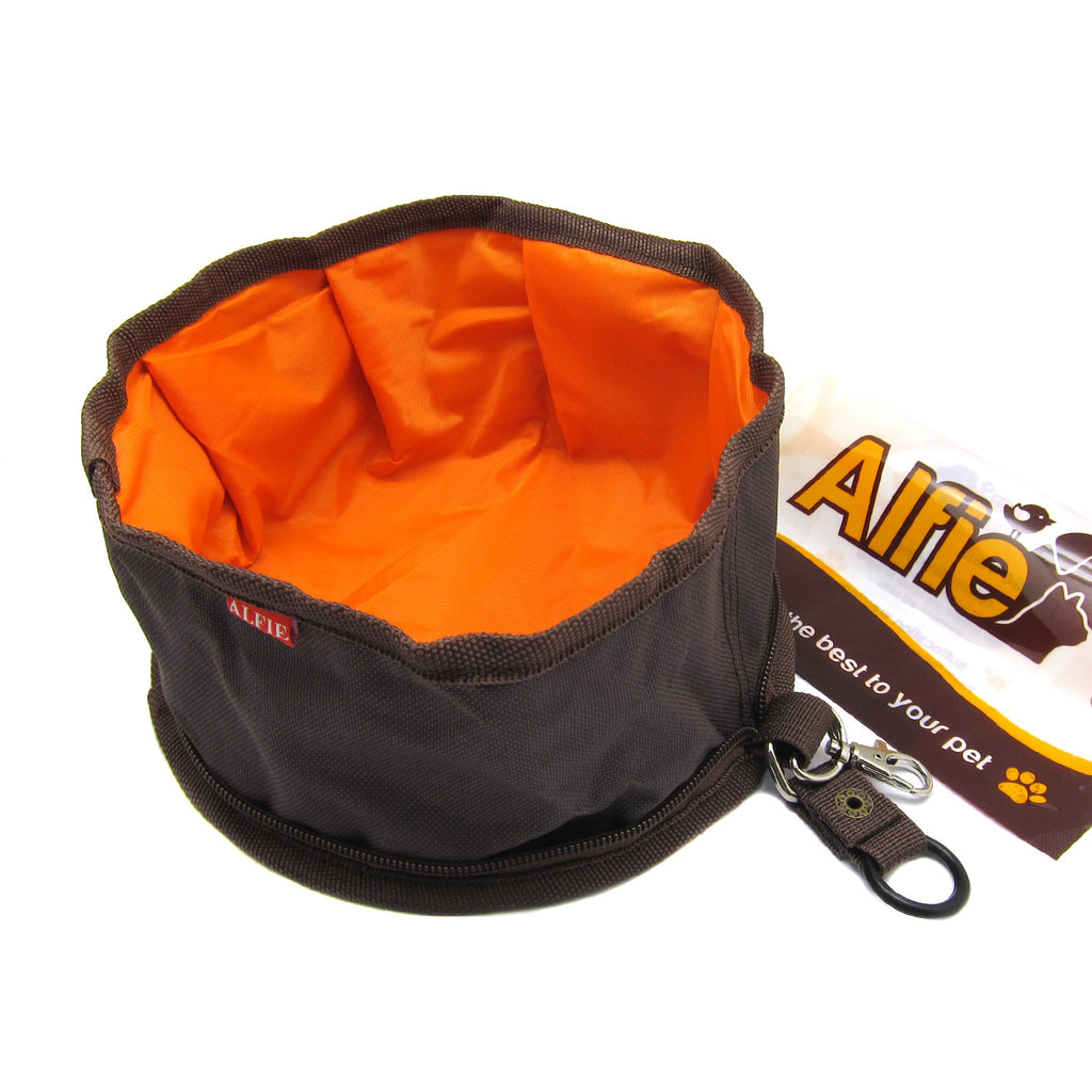 Fabric Expandable/Collapsible Travel Bowl