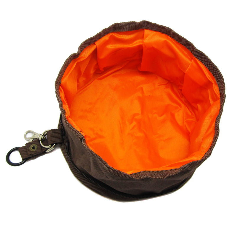 Fabric 2-Piece Set Expandable/Collapsible Travel Bowl