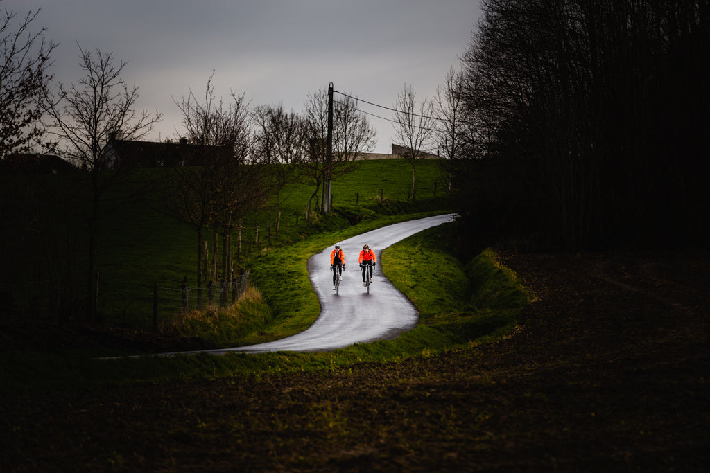 Koppenberg descent couple cycling
