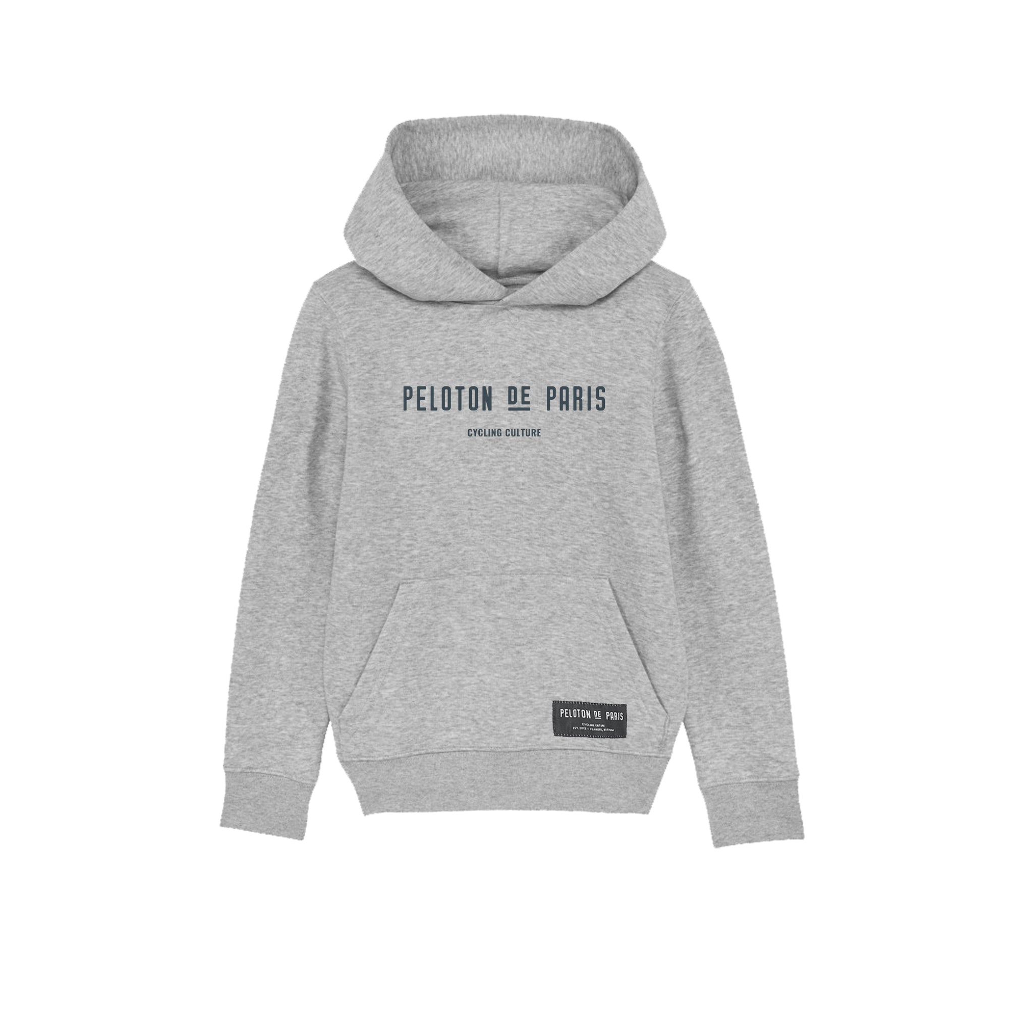 Cycling Culture Kids Hoodie Heather Grey