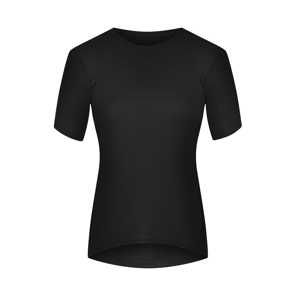 Domestique Short Sleeve Baselayer Black women