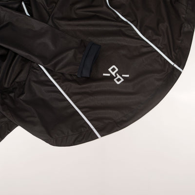'Elements' Packable Jacket Black