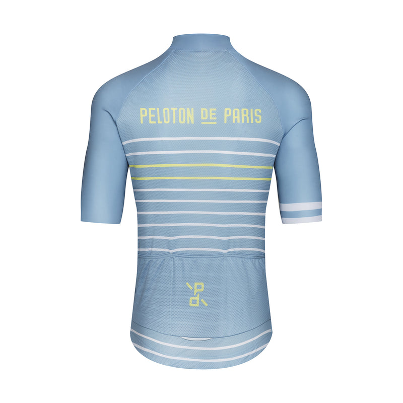 Classic Stripe Blue Stone/Pineapple - Domestique Jersey SS