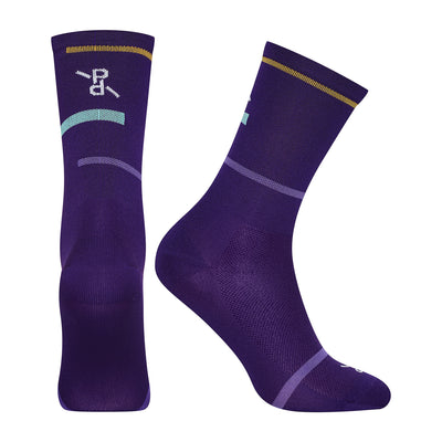 Laser Deep Purple PLTN Socks