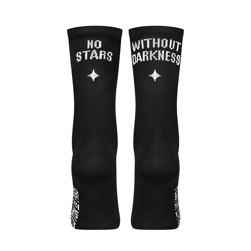 Stars Black Lightweight Merino Socks