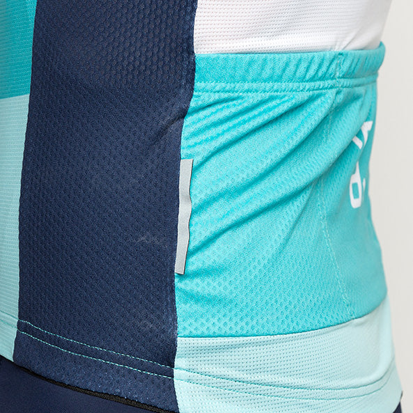 Popsicle Blue Sprinteur Short Sleeve Jersey