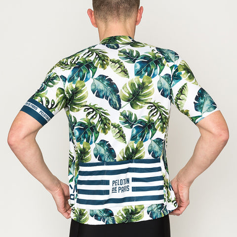 Tropical Leafs Domestique Short Sleeve Jersey