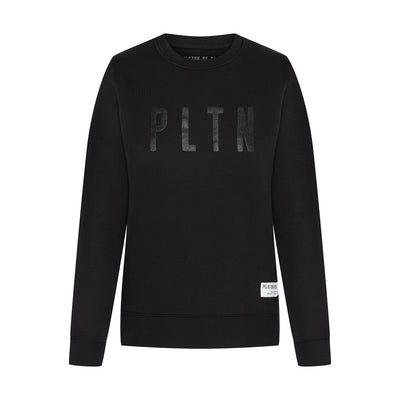 PLTN Sweater Black Women