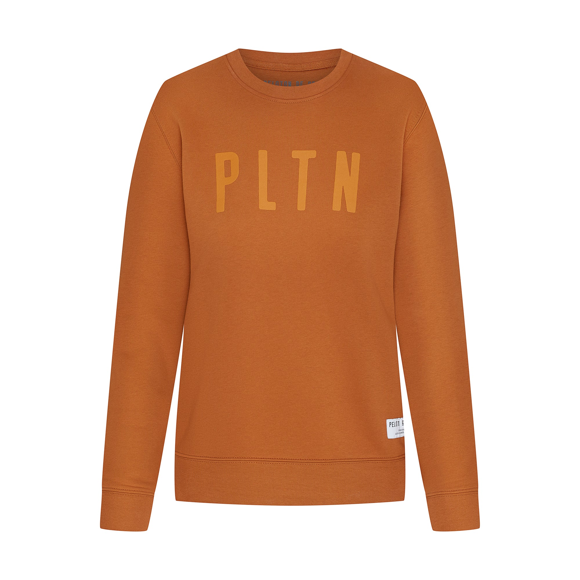 PLTN Sweater Roasted Orange Women