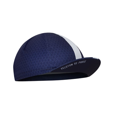 Pattern Cycling Cap Navy