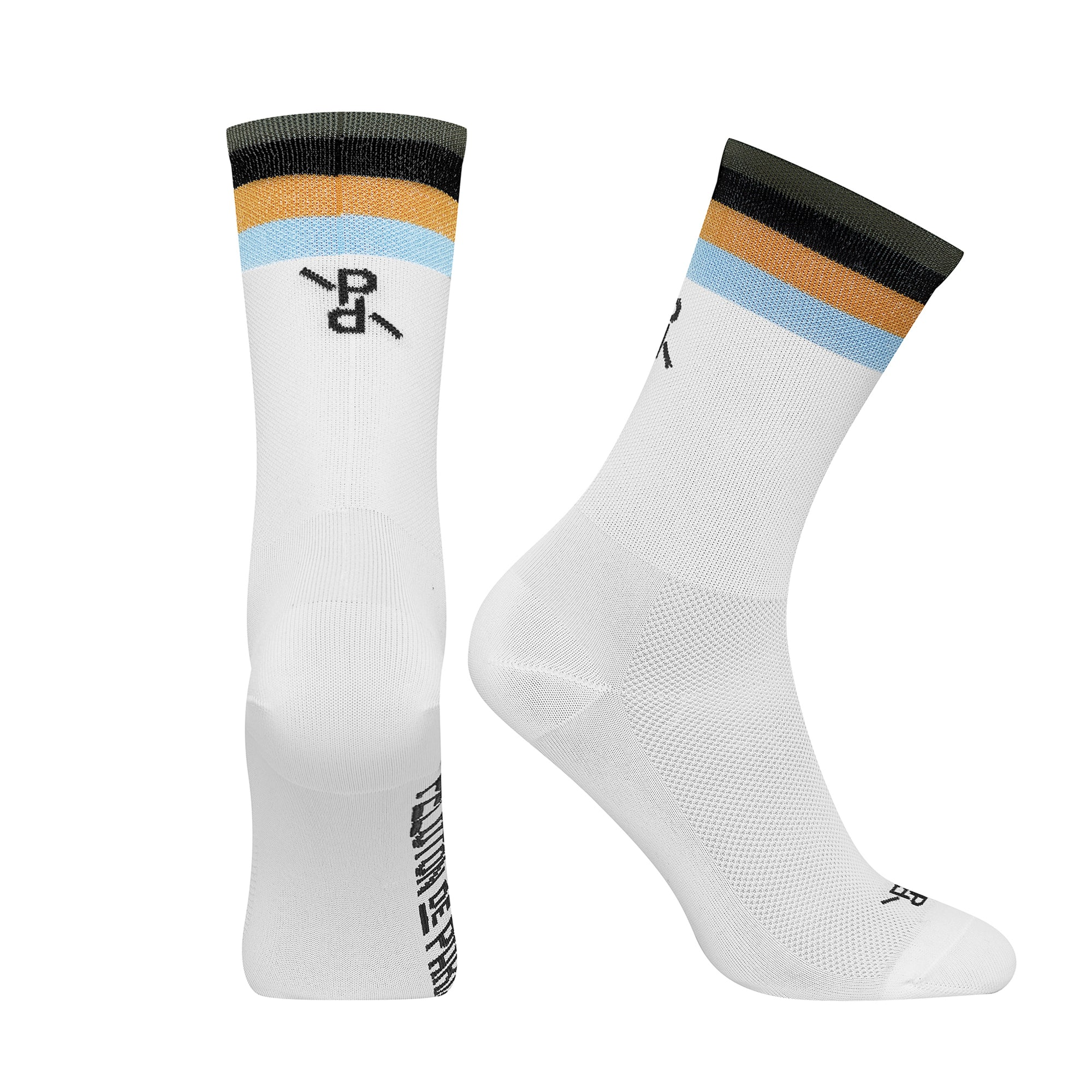 Popsicle White/Black PLTN Socks