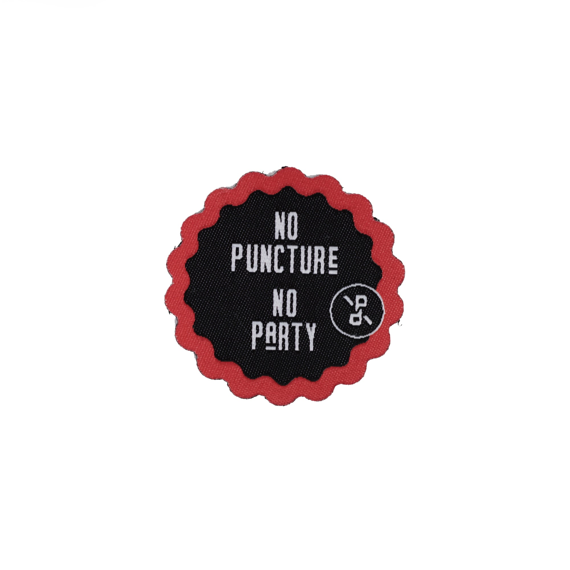 Velcro patch - No Puncture No Party
