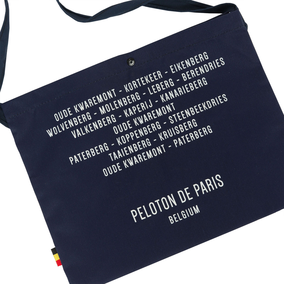 Peloton de Paris Navy Musette Bag