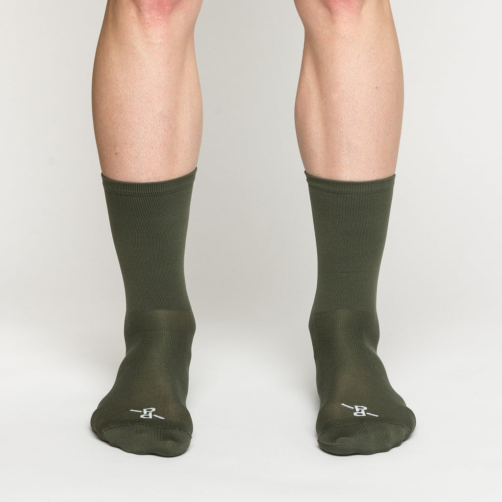 Signature Khaki PLTN Socks