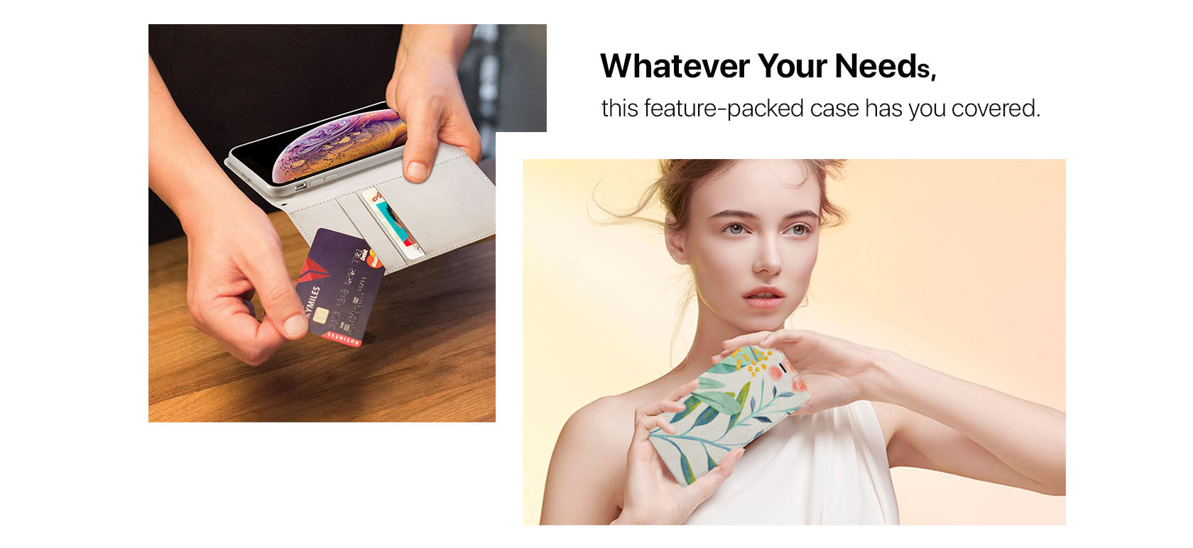 Whatever Your Needs,this feature-packed case has you covered.