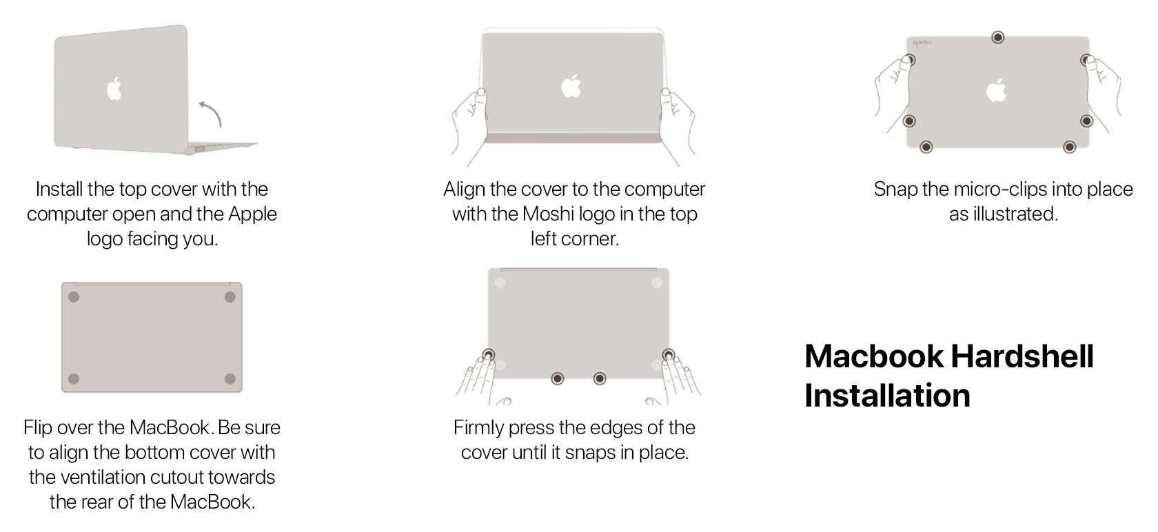 Macbook Hardshell Case Installation