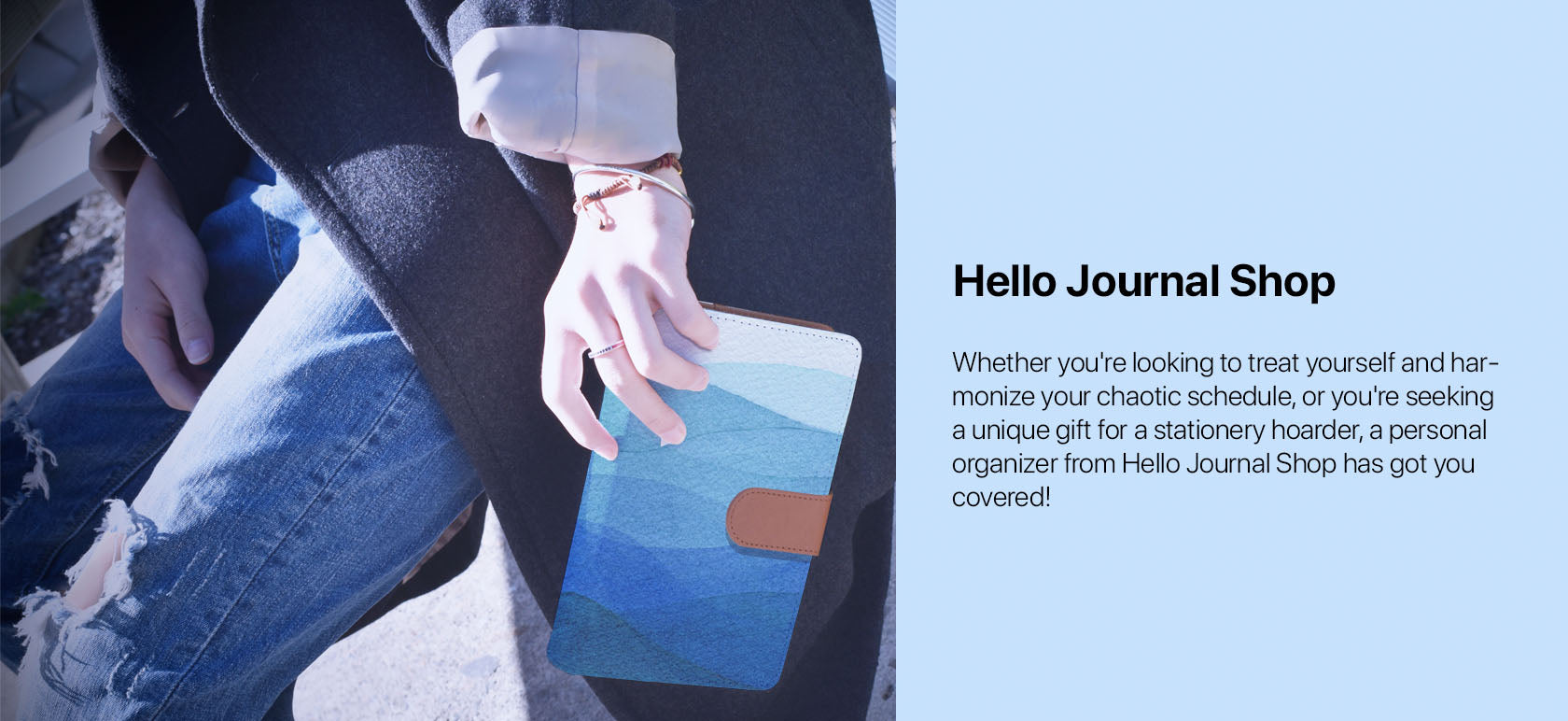 Hello Journal Shop - Whether you're looking to treat yourself and harmonize your chaotic schedule, or you're seeking a unique gift for a stationery hoarder, a personal organizer from Hello Journal Shop has got you covered!