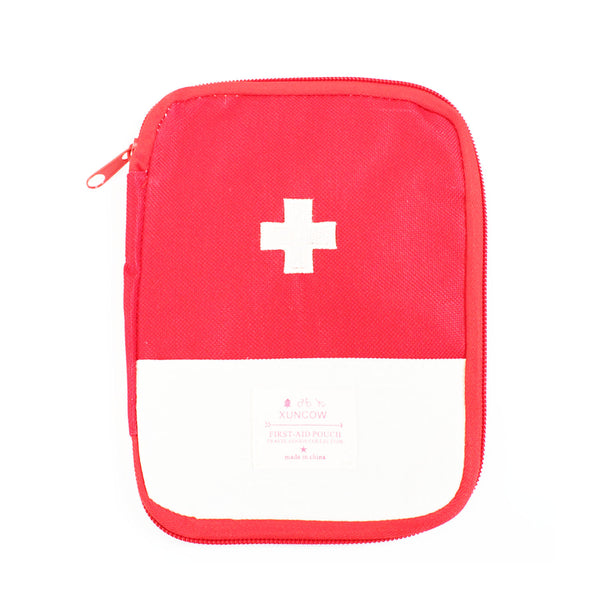 Travel First Aid Pouch - Red