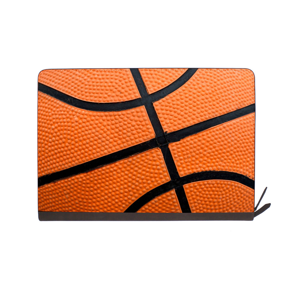 front view of personalized Macbook carry bag case with Sport design