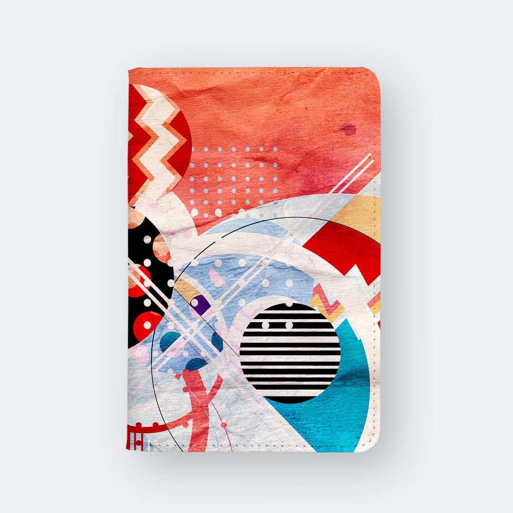 Travel Wallet - Abstract bunnies
