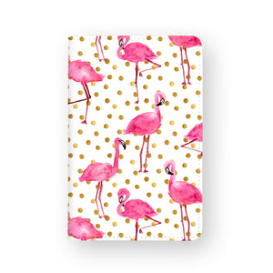 Travel Wallet - Flamingo Polka Dot