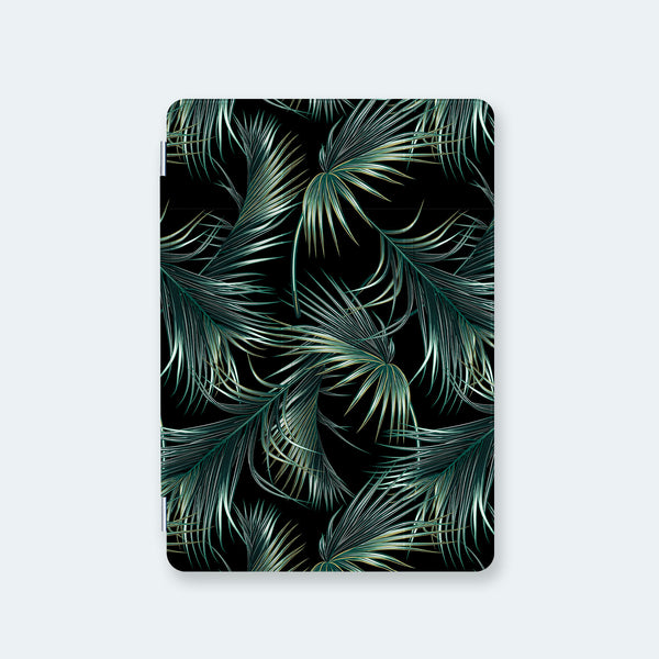 front view personalized iPad case smart cover with palm a drama design