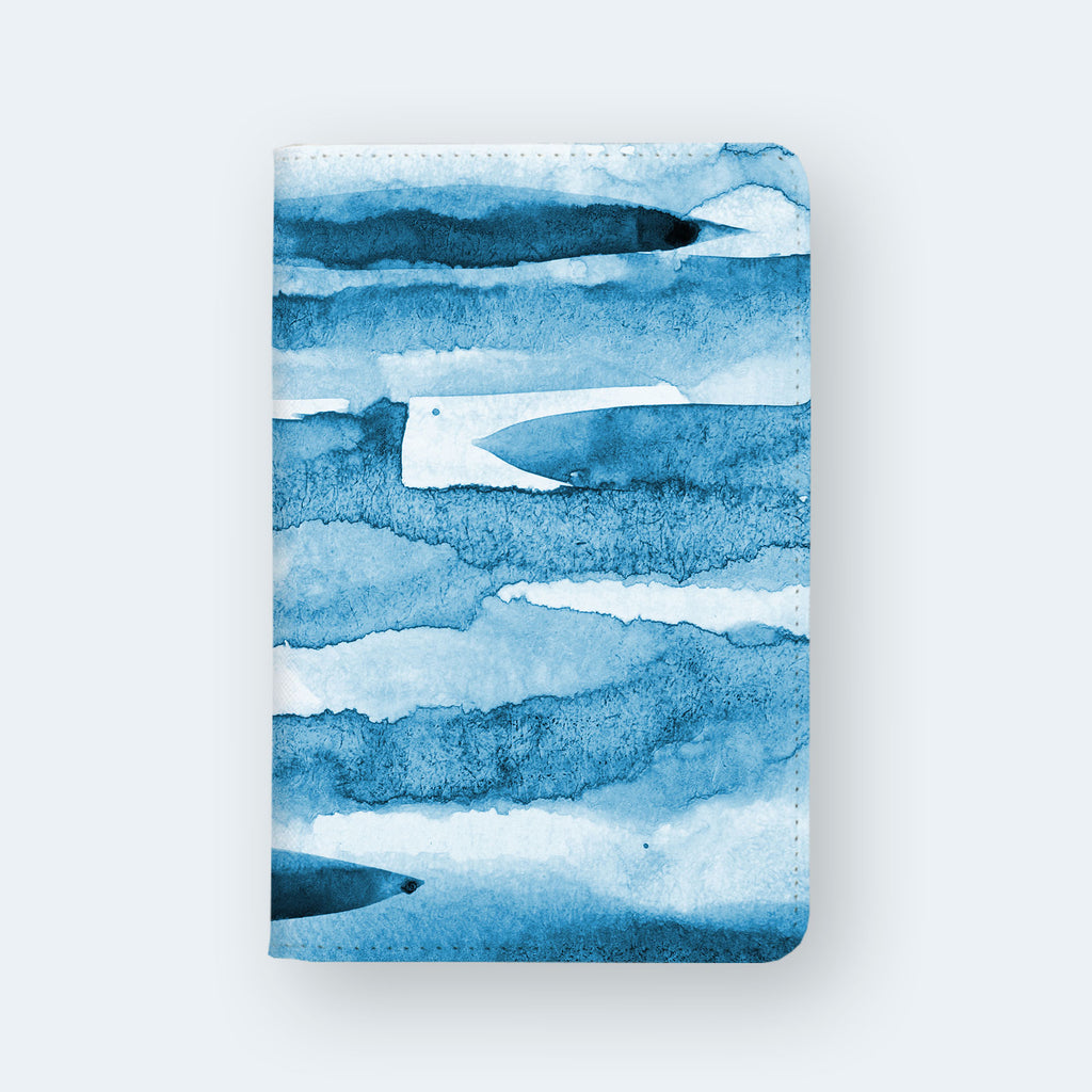 Travel Wallet - Abstract blue