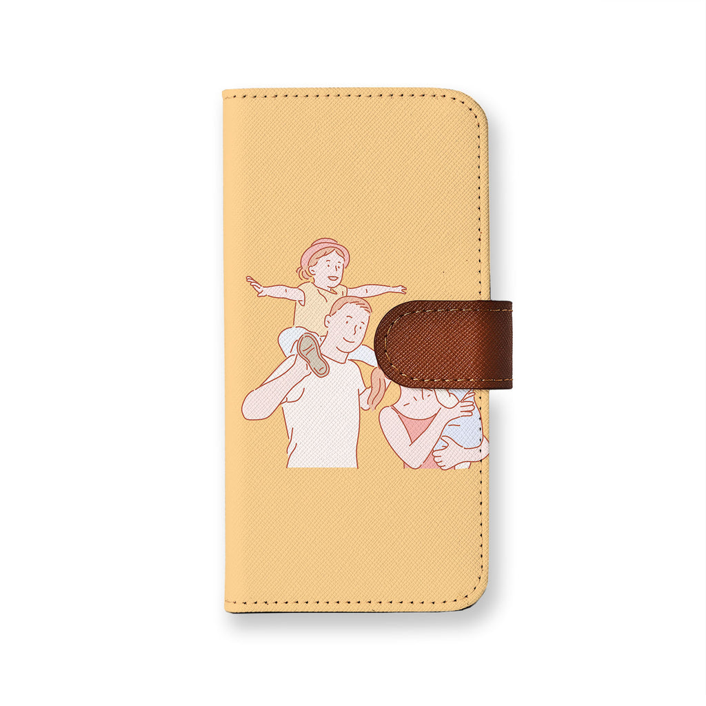 iPhone Wallet - Happy Family